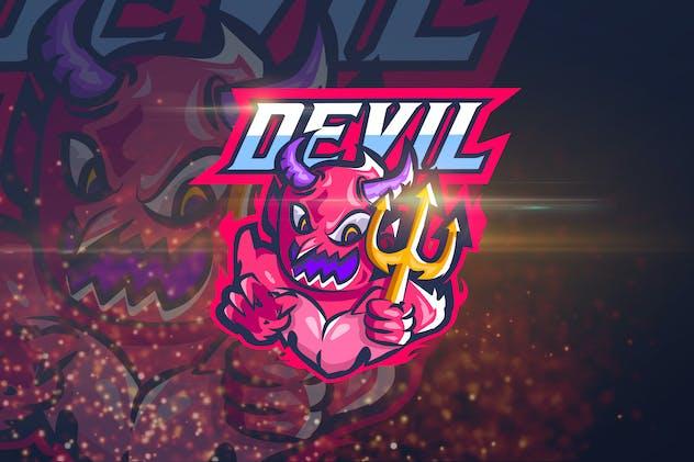 Devil - Esport Logo Template