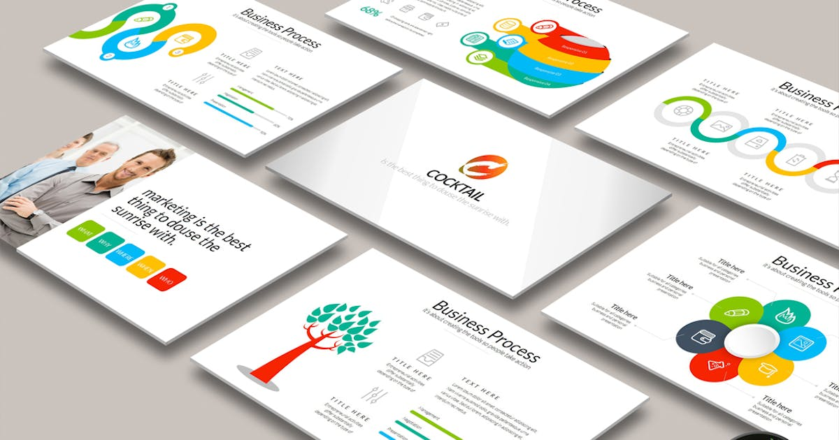 Download COCKTAIL Powerpoint by Artmonk