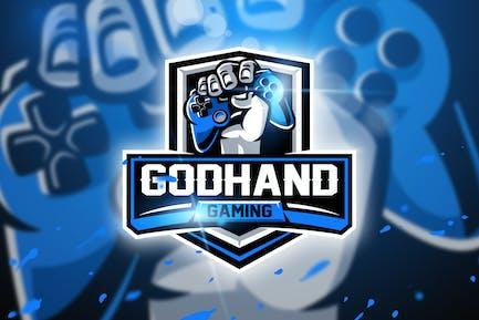 Godhand Gaming - Mascot & Esport logo