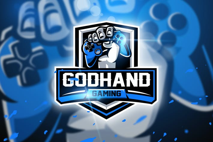 Thumbnail for Godhand Gaming - Mascot & Esport logo