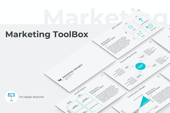 Thumbnail for Marketing Toolbox Keynote Template
