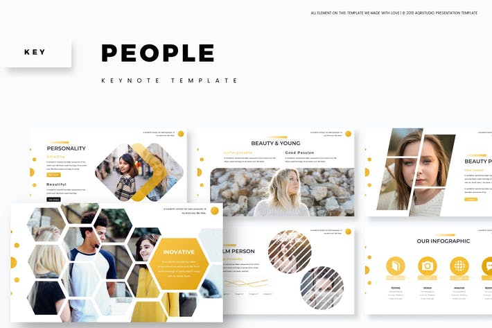 People - Keynote Template