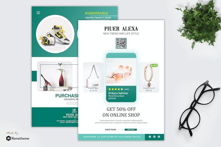 Thumbnail for Piuer alexa - dépliant de promotion du produit HR