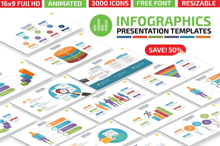 Thumbnail for Infographics2 Keynote Presentation