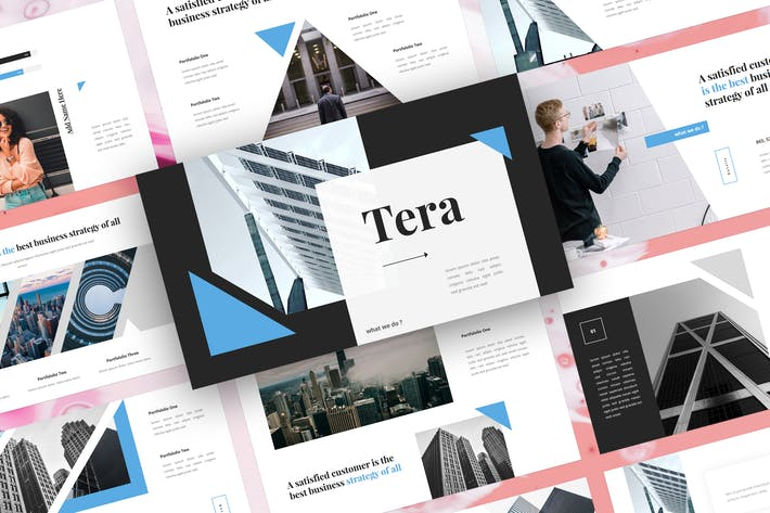 Thumbnail for Tera - Business PowerPoint Template