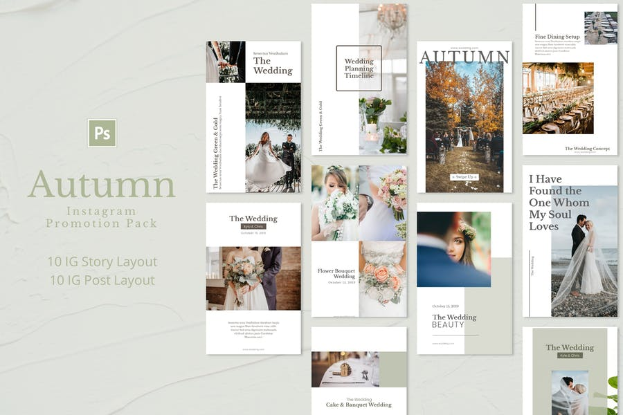 Autumn - Instagram Promotion Pack