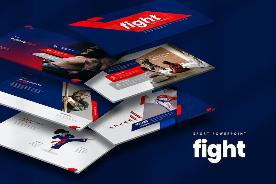 Fight PowerPoint Presentation