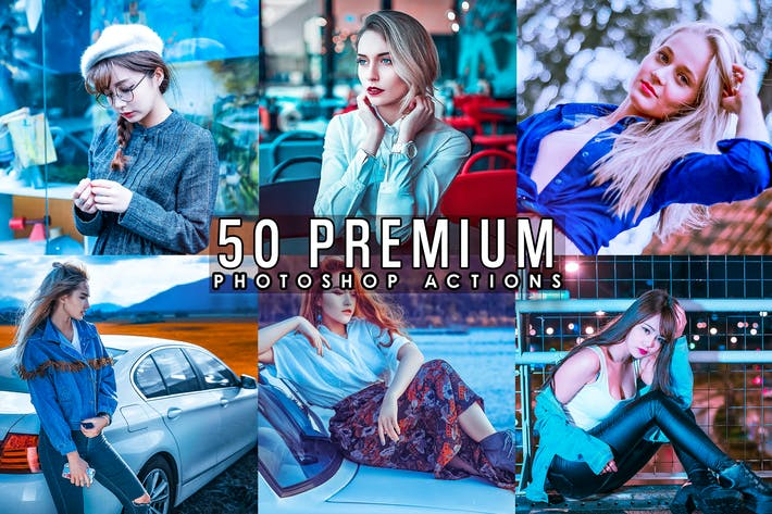 Thumbnail for 30 Premium Skin Photoshop Actions