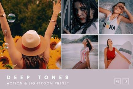 Deep Tones Action & Lightroom Preset
