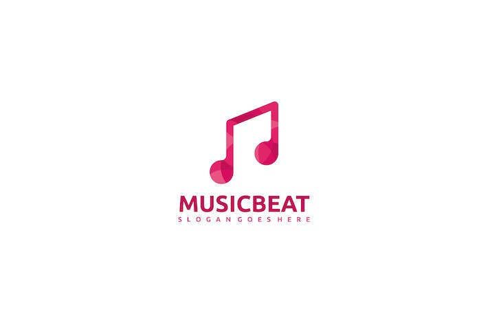 Cover Image For Music Beat Logo