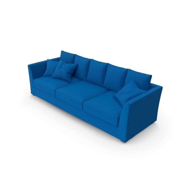 Thumbnail for Berenson Blue Sofa