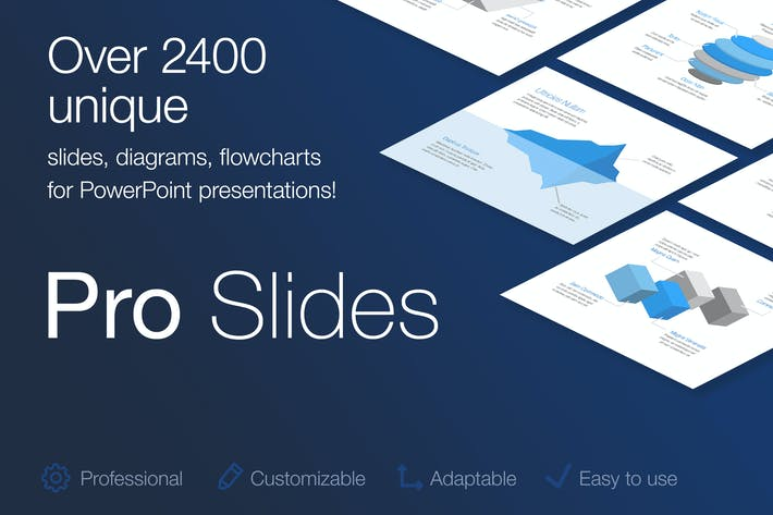 Cover Image For Pro Slides for PowerPoint Template