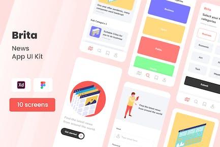 Brita - News Mobile App