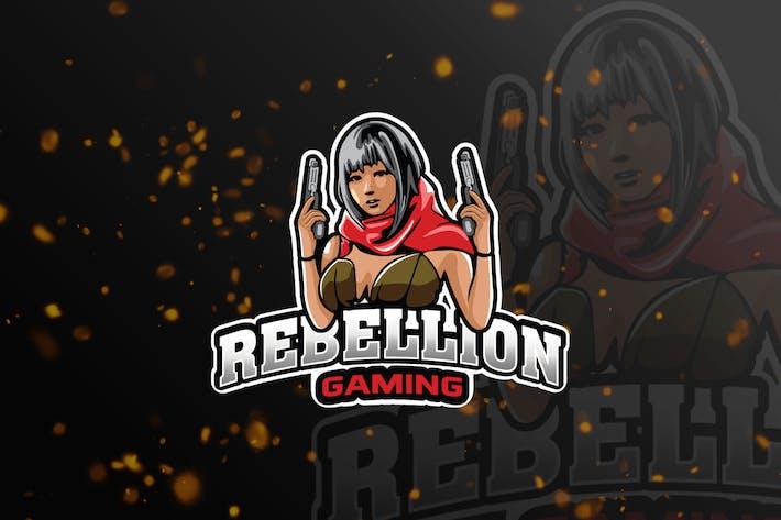 Thumbnail for Rebellion Mascot & eSports Gaming Logo