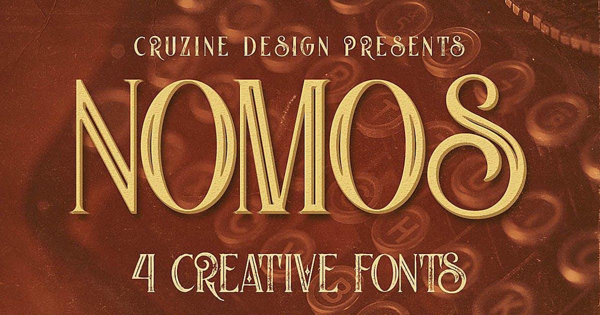 Download Nomos Typeface by cruzine