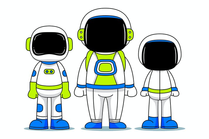 Thumbnail for Astronaut Characters