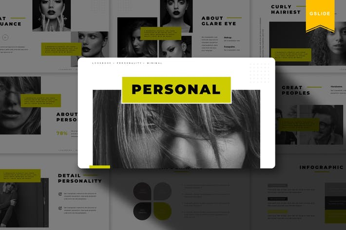 Thumbnail for Personal | Google Slides Template