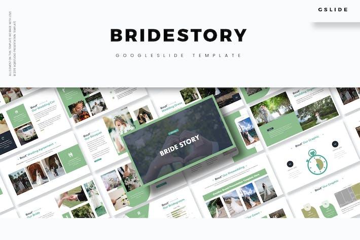 Thumbnail for История невесты - Шаблон слайдов Google