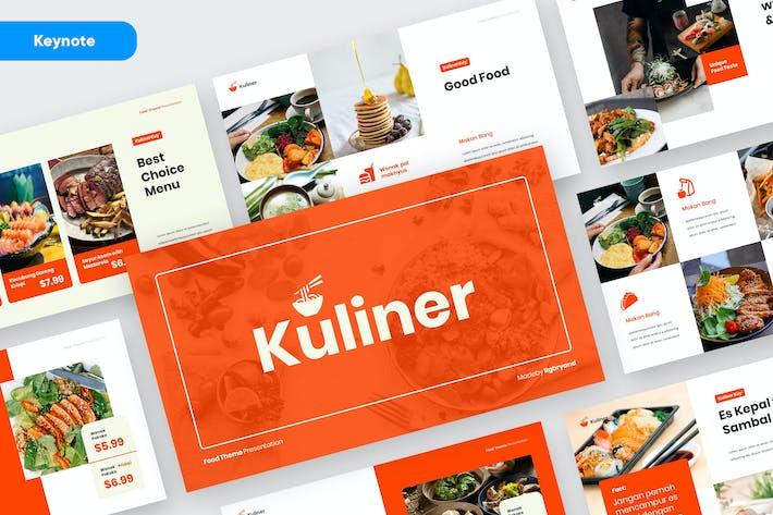 KULINER - Food Business Keynote Template