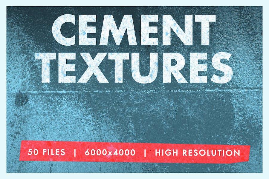 Cement Texture Mega 50 Pack