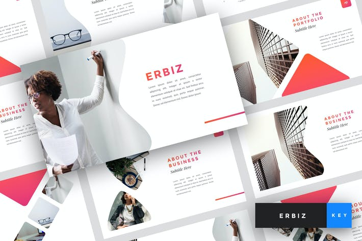Thumbnail for Erbiz - Business Keynote Template