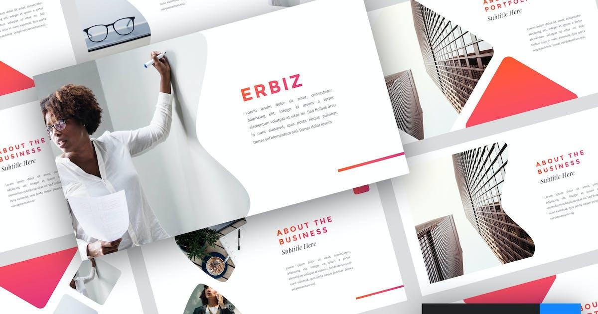 Download Erbiz - Business Keynote Template by StringLabs