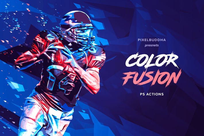 Thumbnail for Color Fusion Photoshop Actions