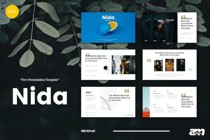 Thumbnail for Diapositivas de Google de Nida Minimal