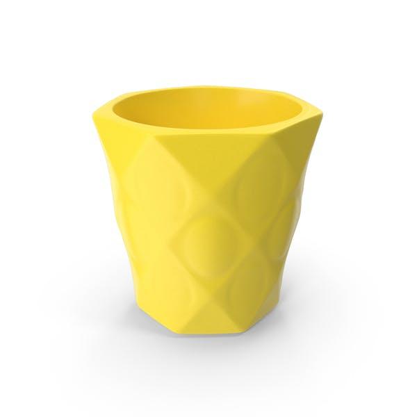 Vase Yellow
