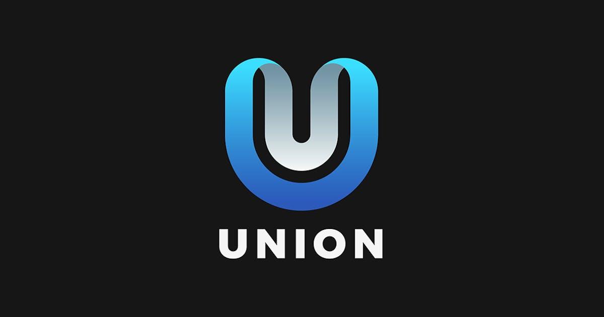 Download Letter U Logo design 3D Ribbon style by Sentavio