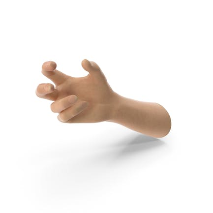 Hand Small Sphere Hold Pose