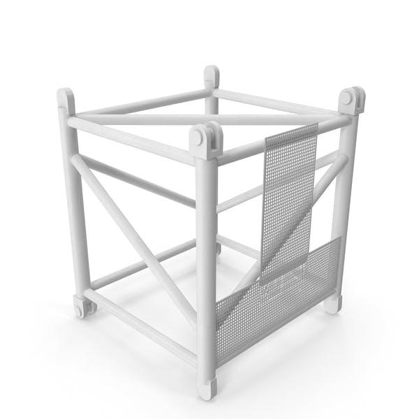 Кран S Промежуточный раздел 3м Белый