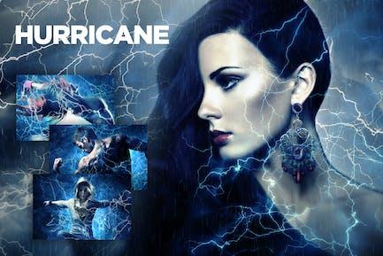 Hurricane Photoshop Action CS2+