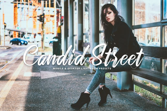 Thumbnail for Candid Street Mobile & Desktop Lightroom Presets