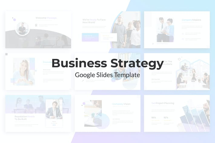 Thumbnail for Business Strategy Google Slides Template