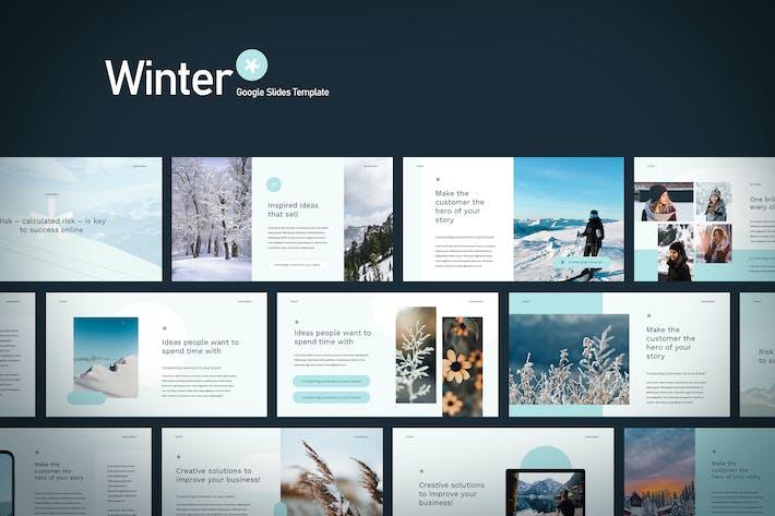 Thumbnail for Winter - Google Slides Template