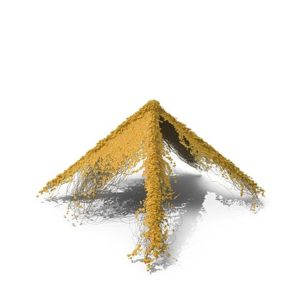 Yellow Ivy Pyramid