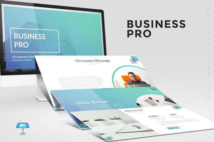 Thumbnail for Business Pro - Keynote Template