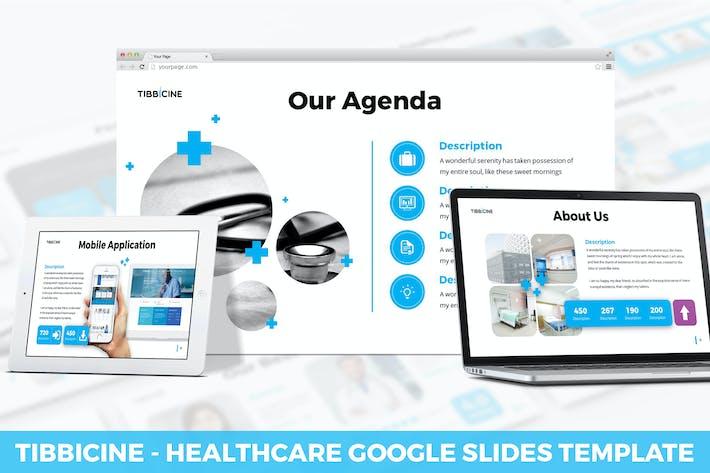 Cover Image For Tibbicine - Healthcare Google Slides Template