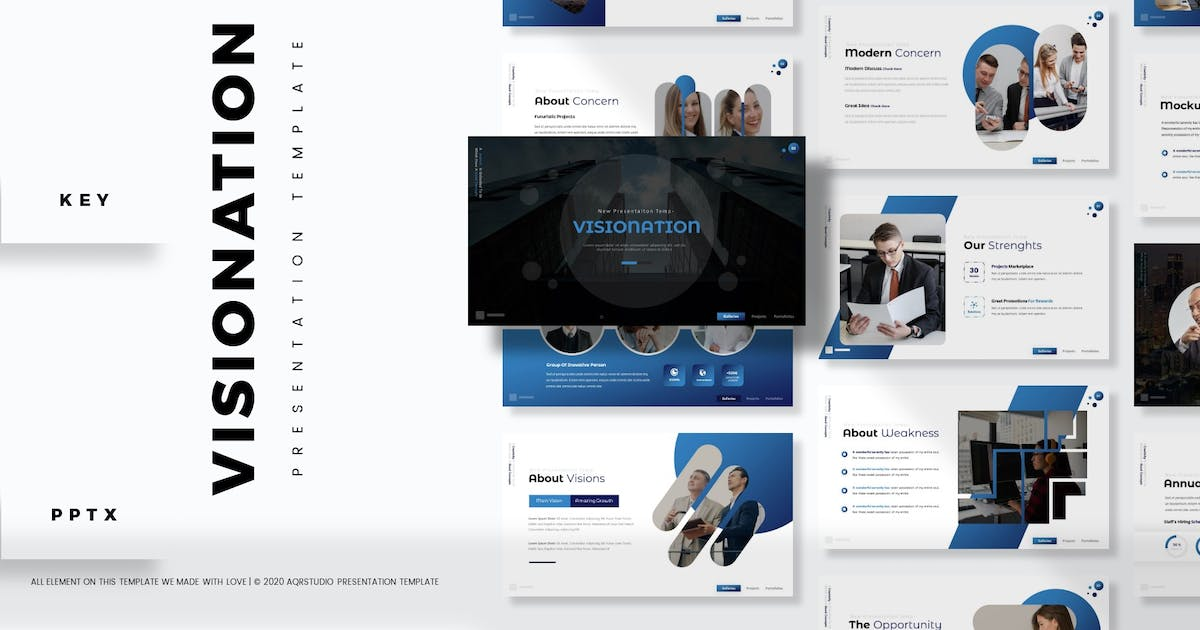 Download Visionation - Presentation Template by aqrstudio