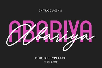 Abariya Font Duo