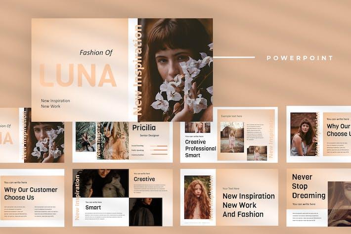 Thumbnail for Luna - Fashion Powerpoint Presentation