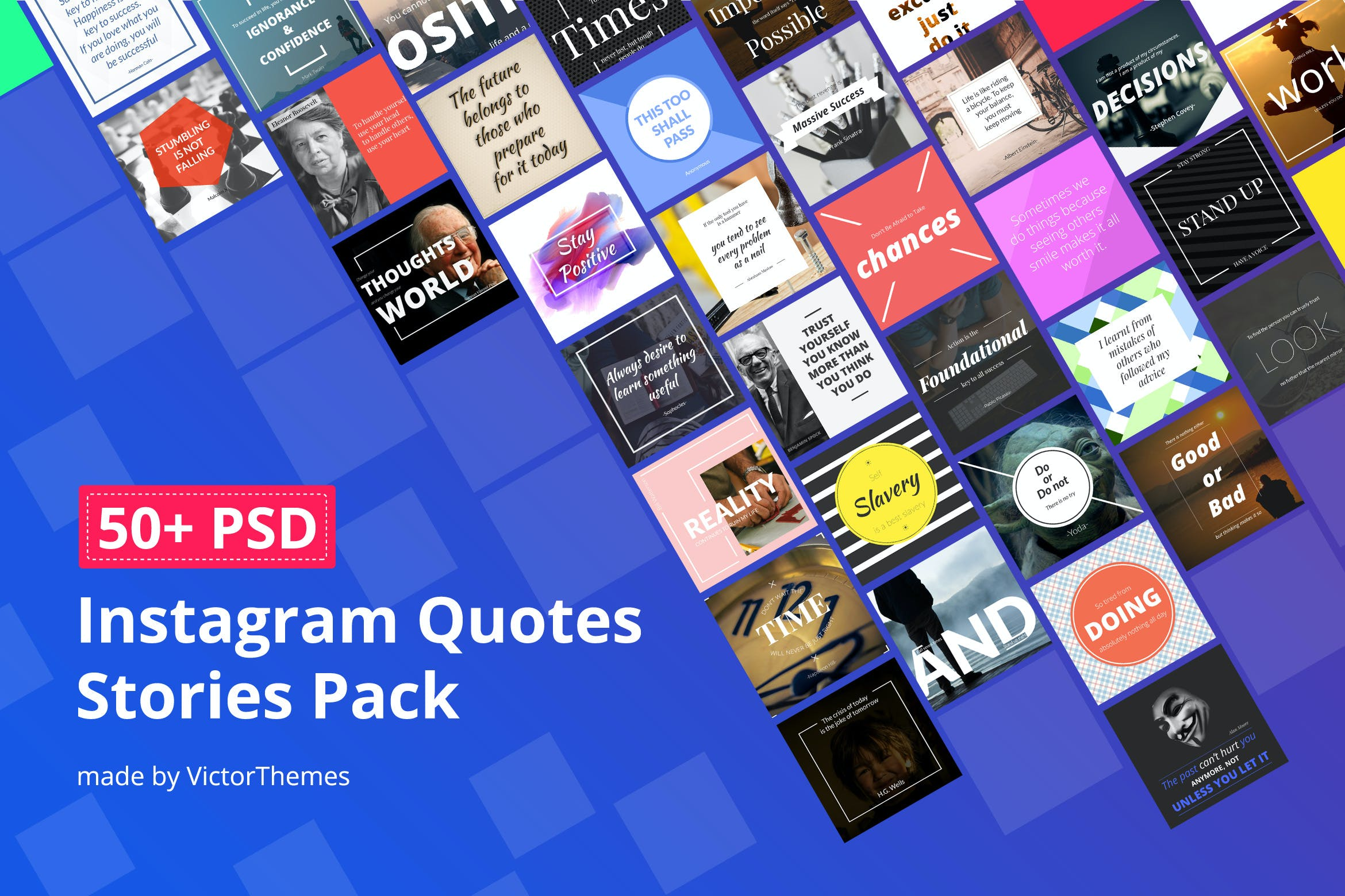 Glorious Instagram Quotes Stories Pack By Victorthemesnx On Envato