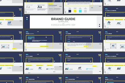Modèle de directives de marque Google Slides