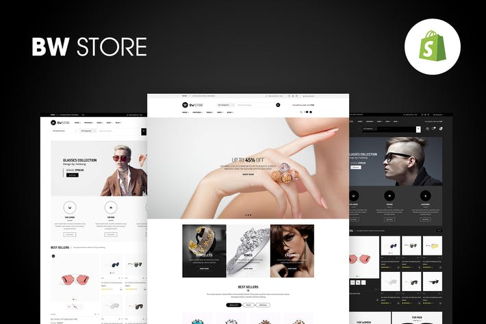 Thumbnail for BW Store - Multiusos Responsive Shopify Tema