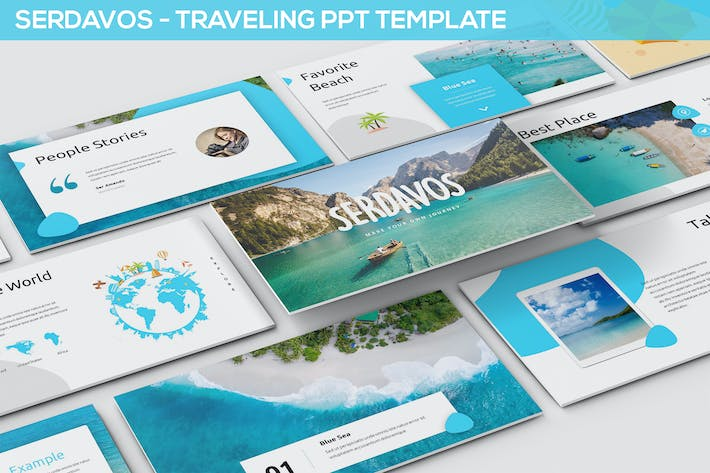 Thumbnail for Serdavos - Traveling Powerpoint Template