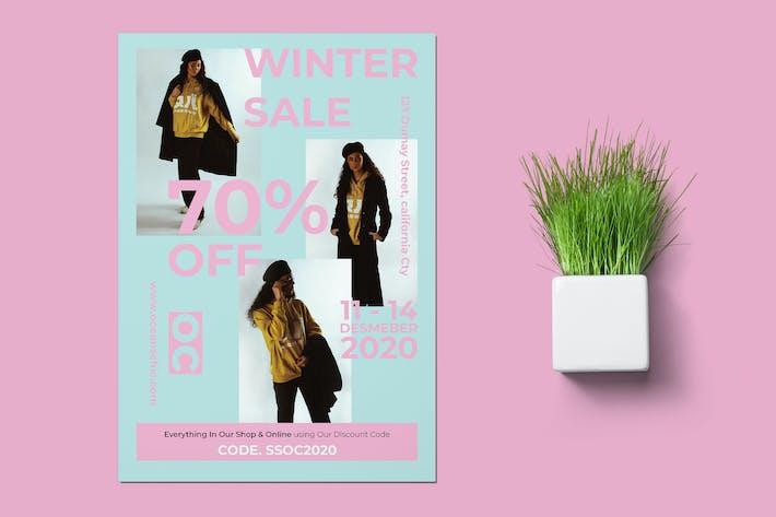 Winter Fashion Flyer