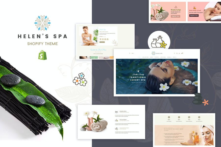 Helen - Shopify Health, Beauty Cosmetic Store - product preview 0