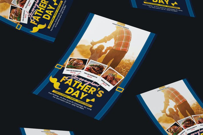 Thumbnail for Fathers Day Flyer