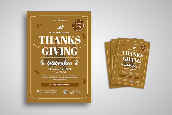Thumbnail for dépliant de Thanksgiving